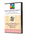 Picture of easyQuiltPatterns Organizer™ Module - Standard Edition